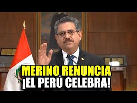 Perú: Se acabo Merino….. ¿y ahora quien?