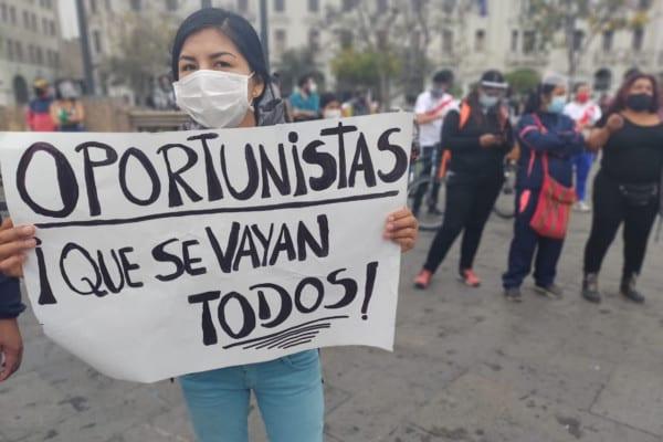 Perú, ingobernable