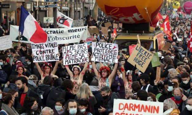 La indignación popular en Francia