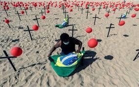 ¿Quien iba a pensar que el otrora poderoso Brasil esté convertido en una tragedia humana por la pandemia?