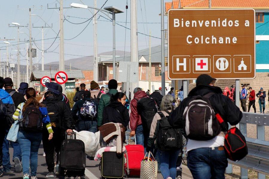 Futuro de Colchane está en manos del ministro del Interior- ya no tiene capacidad para recibir más inmigrantes