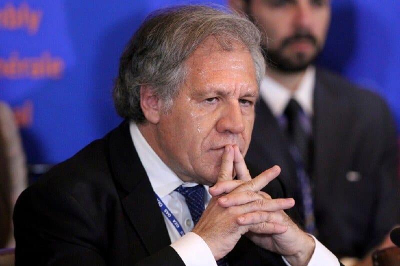 Bolivia llevará a juicio al secretario de la OEA Luis Almagro por irregularidades «cometidas» en la caída de Evo Morales en 2019