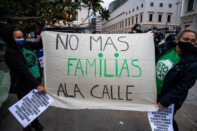 Once millones de familias podrían perder sus casas si se levanta el «veto a los desahucios» en EE UU