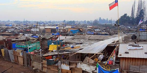 El 36.8 % de la población rural chilena se ubica en el 20% más pobre del país
