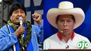 Evo Morales aplaude el triunfo izquierdista en Perú pero lamenta que la derecha haya ganado en Ecuador