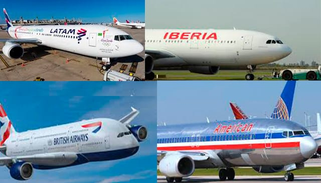 Pérdidas por casi 50.000 millones de dólares registrarían hasta este año las aerolíneas por la pandemia