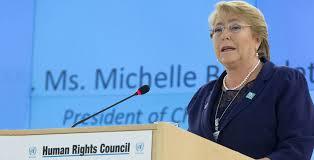 Bachelet: Condena de Chauvin en caso Floyd «es un veredicto trascendental»
