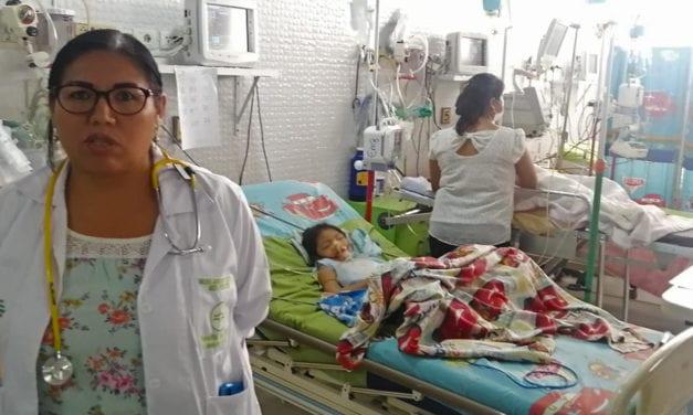El coronavirus ataca también a los niños en Bolivia