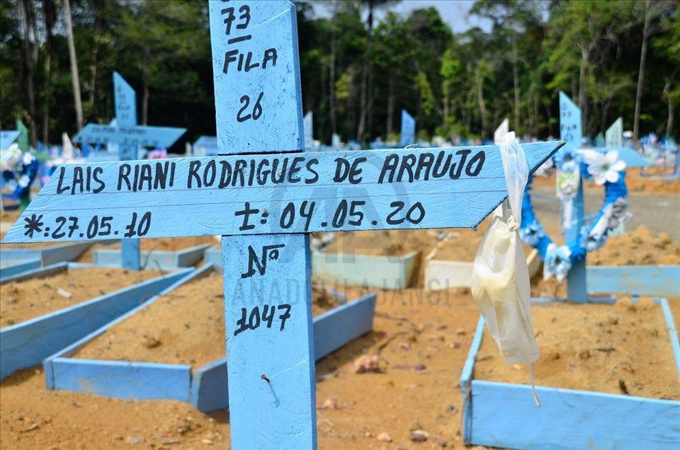 """Mucho """"ojo"""" con lo que ocurre en Brasil: Nueva variante del covid mata a niños y bebés sin control"""