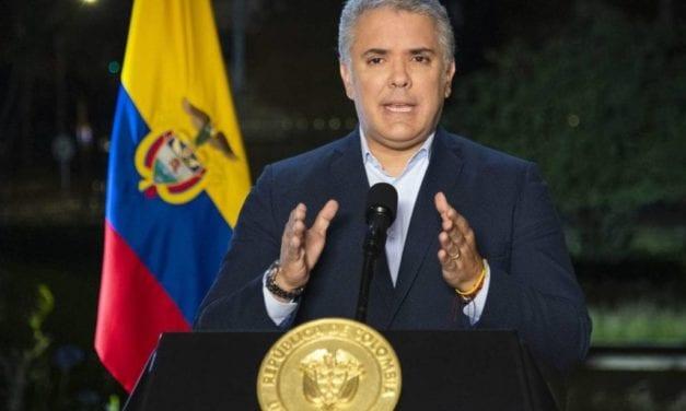 Documentación: Entrevista del diario El País con el presidente de Colombia Iván Duque