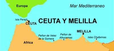 Siguen llegando refugiados al enclave español de Ceuta en Africa – Marruecos suspende controles por problemas con España