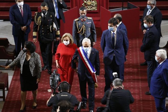 Piñera dejó un «Triste Discurso»