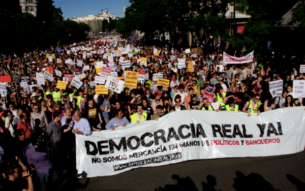 ¡Quince tesis sobre el partido-movimiento para una democracia real Ya!