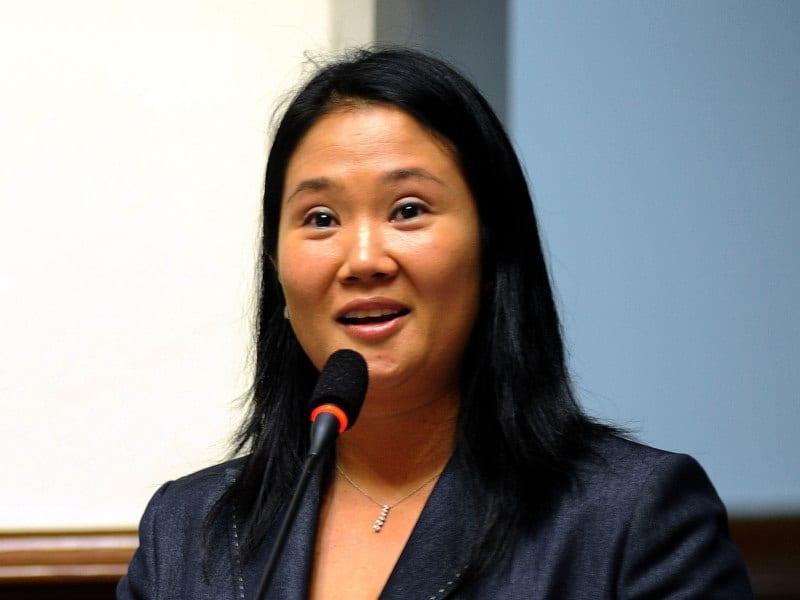 Keiko, si gana, tiene dos destinos: el Palacio de Pizarro o la cárcel Pública