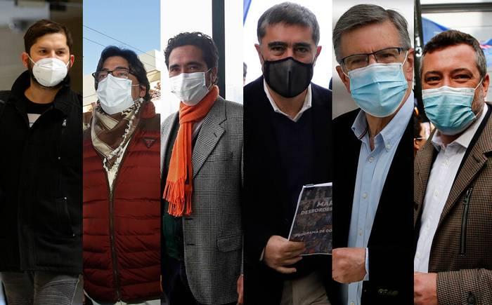 Casi mil millones de pesos recibieron para sus campañas los seis candidatos presidenciales de parte del mundo privado