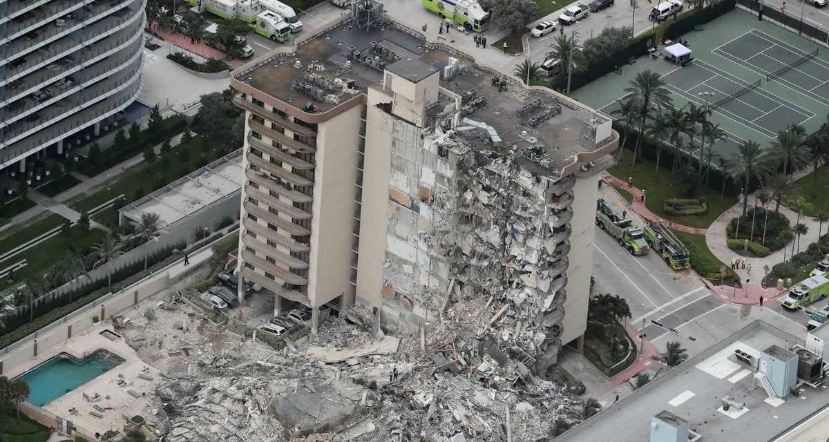 ¿Hay peligro de colapso de otros edificios en Miami Beach? Es la pregunta hoy de los expertos tras el caso en Surfside