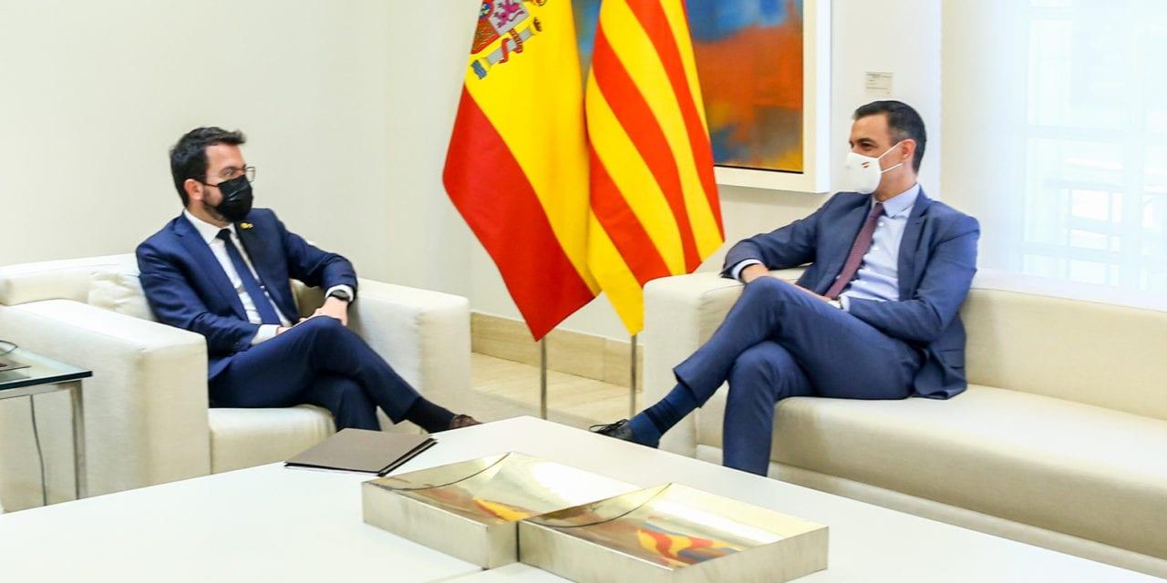Sánchez: No aceptaré «jamás» un referéndum sobre la independencia de Cataluña de España