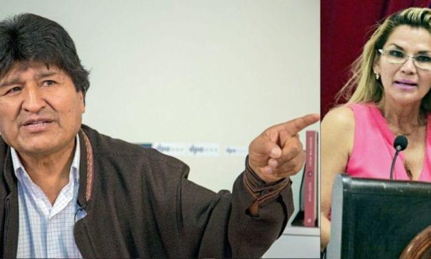 Bolivia y la OEA debaten sobre el pasado reciente si fue dictadura el gobierno de Áñez y si fue renuncia la de Evo Morales