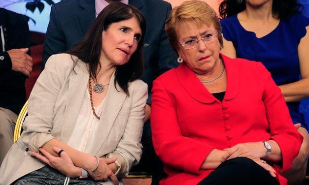 La enviada de Bachelet a las presidenciales se queda sin piso ni techo