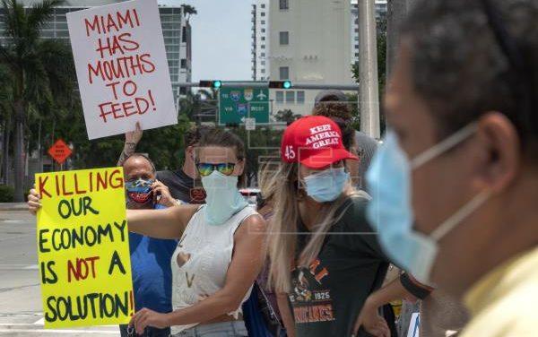FIN DE SEMANA DE HORRORES VIVIO Miami por el Covid-19 – OJO CHILE con los Vuelos de EE UU