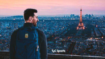 Locura en Francia con la llegada del argentino Lionel Messi a su nuevo club El PSG