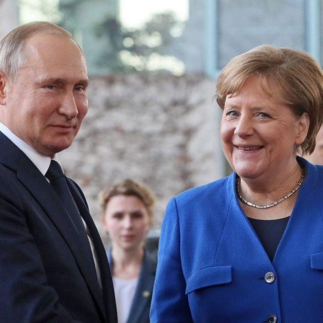 La última visita de Angela Merkel a Moscú como Canciller alemana