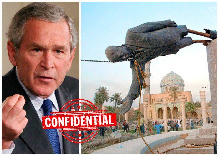 La figura de Biden se derrumba «simbólicamente» por derrota en Afganistán como la de Sadam Huseín en Irak en 2003